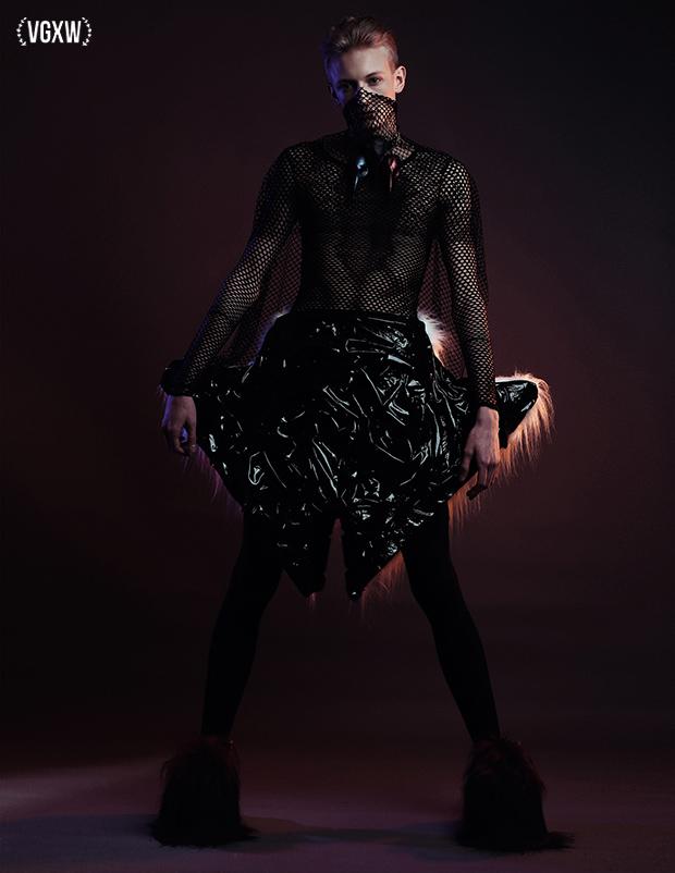 Vgxw Magazine Avant Garde Men S Fashion Editorial Fauns By Migle Golubickaite